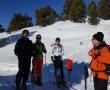 Les optionnaires E.P.S en ski